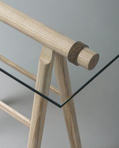 signet trestle by daniel schofield is assembled with a simple aluminum ring
