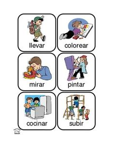 Action Kids - Spanish Verbs - Fran Lafferty - TeachersPayTeachers.com