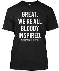 Afbeeldingsresultaat voor t shirt the maze runner