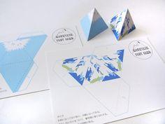 Mountain post card   HandMade in Japan 手仕事の新しいマーケットプレイス iichi