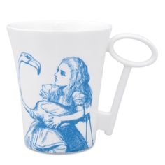 Alice in Wonderland Key-Handle Mug | Whittard of Chelsea