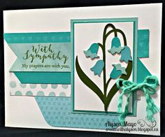 Create with Alyson: Atlantic Hearts Sketch 172 - Sympathy Card