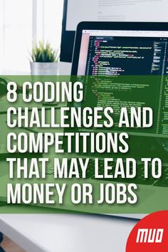 8 Coding Challenges and Competitions That May Lead to Money or Jobs --- Online programming contests can offer job breakthroughs or simple cash rewards. Take your pick from these coding challenges. Learn Computer Coding, Basic Computer Programming, Learn Programming, Computer Technology, Computer Science, Medical Technology, Energy Technology, Technology Gadgets, Arduino Programming