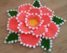 This Pin was discovered by HUZ Crochet Owls, Crochet Leaves, Crochet Motif, Crochet Doilies, Crochet Flowers, Free Crochet, Crochet Patterns, First Halloween Costumes, Halloween Cards