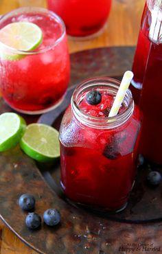 ... limeade #lemonade #blueberry #berry #lime #lemon #juice #summer #drink