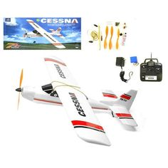 "38"" wingspan 4CH Rc Cessna Plane"