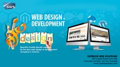 A boutique web design, development, app development company passionate about the web and mobile based in Concord, Toronto, Canada at reasonable prices. Visit : www.superiorwebsys.com