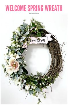 DIY welcome spring g