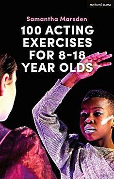 100 Acting Exercises for 8 - 18 Year Olds. Offers acting exercises to be used with young people in the classroom or by individuals, many based on the teachings of Meisner, Stanislavski and Brecht. Drama School, Drama Class, Drama Education, Film School, Art School, Acting Exercises, Theatre Practitioners, Acting Tips, Acting Quotes