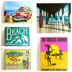 vintage reproduction tin signs www.coastalvintage.com.au Coastal Homes, Coastal Living, Giant Clam Shell, Home Bedroom, Bedroom Ideas, Lake Decor, Beach Signs, Tin Signs, Beach Cottages