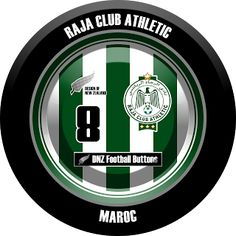 DNZ Football Buttons: Raja Club Athletic