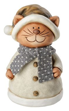 """Zaunhocker """"Katze Karlo"""" - VBS-Hobby.com Christmas Crafts, Christmas Decorations, Arts And Crafts, Diy Crafts, Hobbies And Interests, Pottery Sculpture, Cat Design, Clay Art, Wood Carving"""