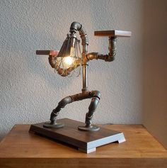 Industrial Table Desk Lamp