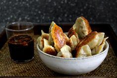 Dual fennel potstickers, a recipe on Food52