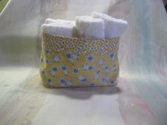 This darling little fabric basket is one of the most versatile items you can have around your house.   So handy, and also…