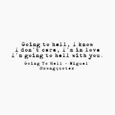"miguel ""goingtohell"" lyrics - Google Search"