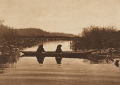 On the River - Puget Sound (The North American Indian, v. IX. Norwood, MA: The Plimpton Press, 1913)   by Edward Sheriff Curtis from USC Digital Library