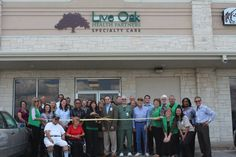 Congratulations to Live Oak Health Partners Specialty Care for opening of their #Lockhart Clinic last week!