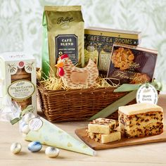 Easter Entertaining Gift Basket | £50.00 | Everything for the perfect Easter weekend.