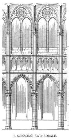 Wissenschaftliches Bildarchiv für Architektur - Kathedrale St. Gervais et Protais/Soisson / Aisne: Kathedrale St. Gervais et Protais
