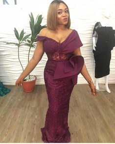 Darius creates all types of custom dresses for all formal special occasions. Wedding dresses, mother of the bride ball gowns, evening wear and pageant gowns. Lace Dress Styles, African Lace Dresses, Latest African Fashion Dresses, African Dresses For Women, African Attire, African Clothes, Ankara Fashion, Women's Fashion, African Women