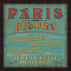 paris Bistro-in colour-Pela Studio
