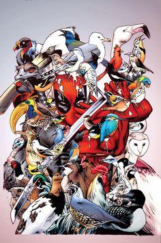 #Deadpool #Fan #Art. (Uncanny X-Men Vol.3 #1 Cover) By: Chris Bachalo. ÅWESOMENESS!!!™ ÅÅÅ+(GET ME THE FLOCK OUT OF HERE!!!)