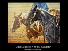 """Western Art by Joelle Smith, """"Horse Jewelry"""""""
