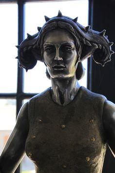 Saronsberg, SA'12 @Saronsberg Cellar Cellar #Saronsberg #LikePinWin #VineyardCottageContest Sculptures, Batman, Paintings, Statue, Superhero, Fictional Characters, Art, Paint, Painting Art