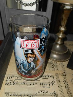Return Of The Jedi Glass 1983 Burger King Edition