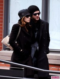 They always look like its them against the world-  Justin Timberlake and Jessica Biel