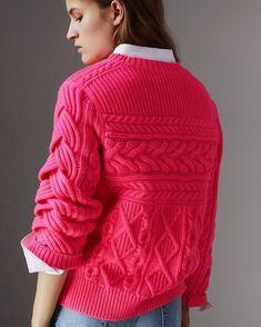 Burberry #knit #knitting #knitted #knitstagram #knitstyle #knittinginspiration #knittinglove #knitting_inspiration #inspiration #sweater…