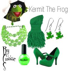 """""""Kermit The Frog"""" by lilcassie7 on Polyvore"""