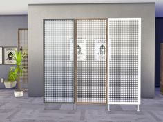 ung999's Bathroom Aloe - Room Divider