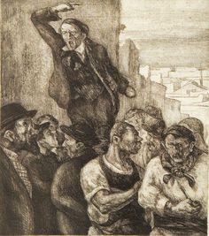 El día que los obreros se pusieron a pintar obreros. Santiago Palazzo