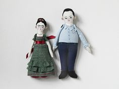 Frida and Diego by Evie Barrow
