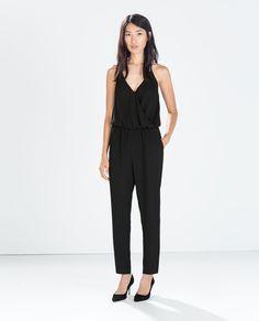 Image 1 de COMBINAISON LONGUE FINES BRETELLES de Zara