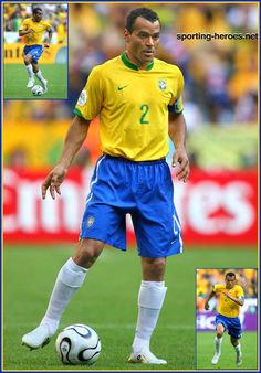 Cafu, my favourite ever full back, and one of my footballing roll models