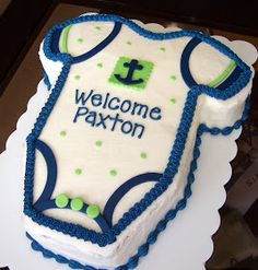 Meet the Matterns: Baby Shower Cakes