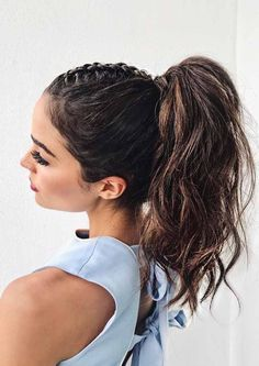Braids are a great way to style you hair. Ponytail is a popular option too. So you can get a braided ponytail hairstyle for an amazing hairstyle that would look perfect on your face, here we have collected 5 Best Braided Ponytail Hairstyles and Haircuts Ideas 2018. Don't miss out! #hairstraightenerbeauty #BraidedPonytailHairstyles #BraidedPonytailHairstylesblack #BraidedPonytailHairstylesblackkids #BraidedPonytailHairstylesblackhair