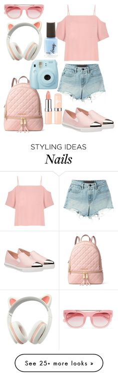 """""""Untitled #213"""" by diamonds610 on Polyvore featuring Miu Miu, MICHAEL Michael Kors, Erdem, T By Alexander Wang and Fuji"""