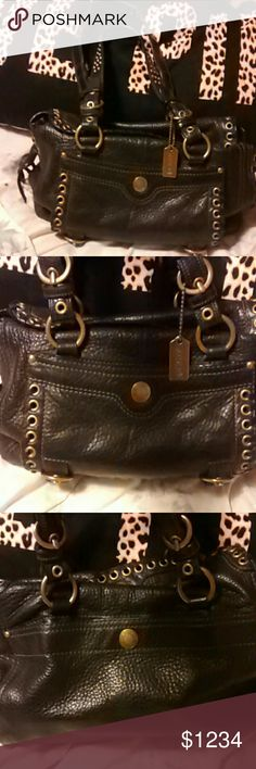 Coach leather bag EUC AUTHENTIC. BEAUTIFUL BAG. NO FLAWS INSIDE OR OUT Coach Bags Satchels