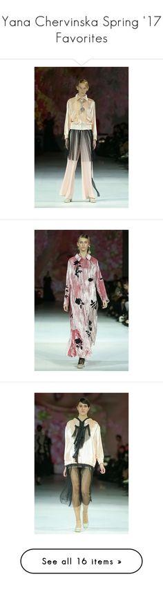 """Yana Chervinska Spring '17 Favorites"" by amberelb ❤ liked on Polyvore"