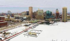 Frozen Inner Harbor Feb 2015
