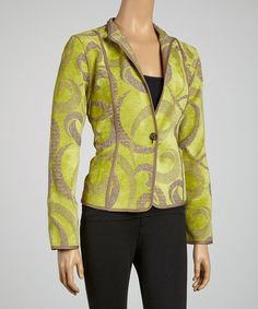 Take a look at this Kiwi Reversible Jacket by Khangura on #zulily today! $50 !!