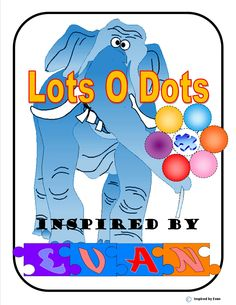 Happy New Year from Inspired by Evan Autism Resources: Enjoy this FREEBIE: Lots-O-Dots on Elephants!