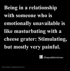 unhook from emotionally unavailable partner