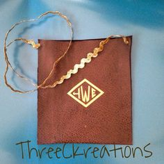 Suede Toddler Monogrammed Crossbody Purse by ThreeCKreations