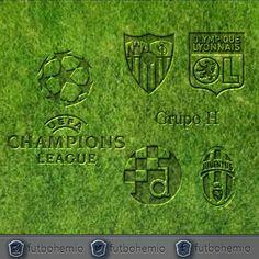 #agenda  #championsleague #GrupoH  #sevilla #olympiquelyonnais #dinamozagreb #juventus #futbohemio #futbol