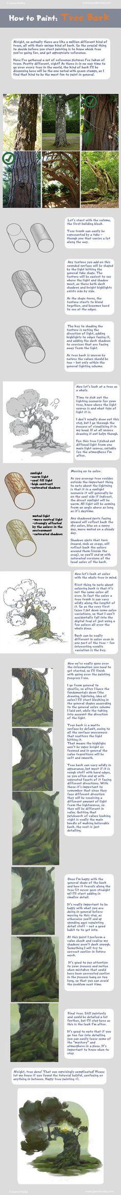 How to Paint Tree Ba